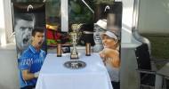 Hochkarätige Besetzung beim juniors Grand Slam US Open auf der Anlage beim Wiener Ahletiksport Club