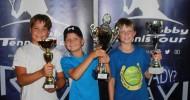 Juniors-Hobby-Tennis-Tour feiert hochgelobtes Tennisfest